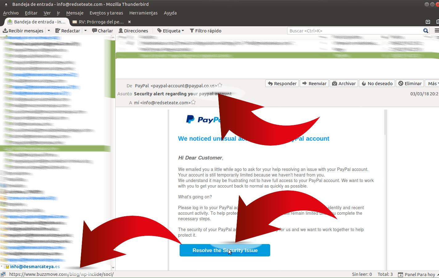 Phishing un problema actual a tenir molt en compte calafellonfire Calafell
